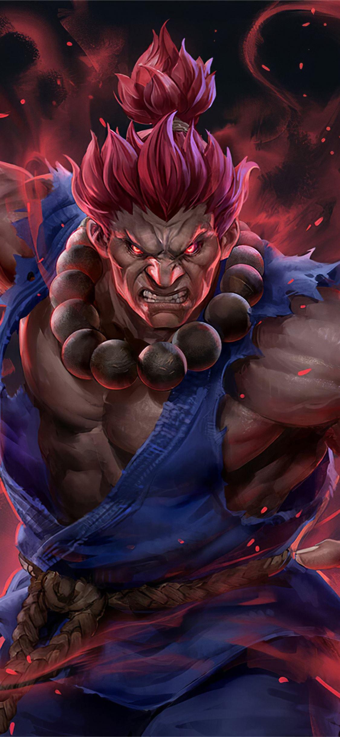 Akuma Street Fighter Artwork Streetfighterv Games 2020games 4k Artstation Iphonexwallpap Street Fighter Wallpaper Akuma Street Fighter Ryu Street Fighter