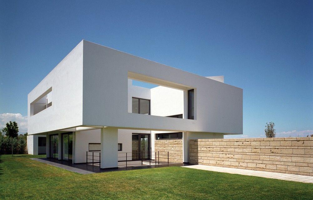 Gallery of residence in ancient korinthos spiros - Maison ribatejo y atelier nuno lacerda lopes ...