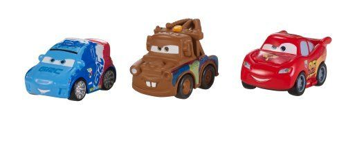 Cars Micro Drifters Lightning Mcqueen Raoul Caroule And Mater Vehicle 3 Pack By Mattel 10 95 Inspired By The Hit