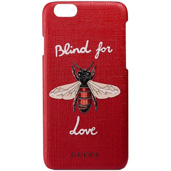 1cbee118998 Gucci Blind For Love Iphone 6 Case ( 270) ❤ liked on Polyvore featuring  accessories
