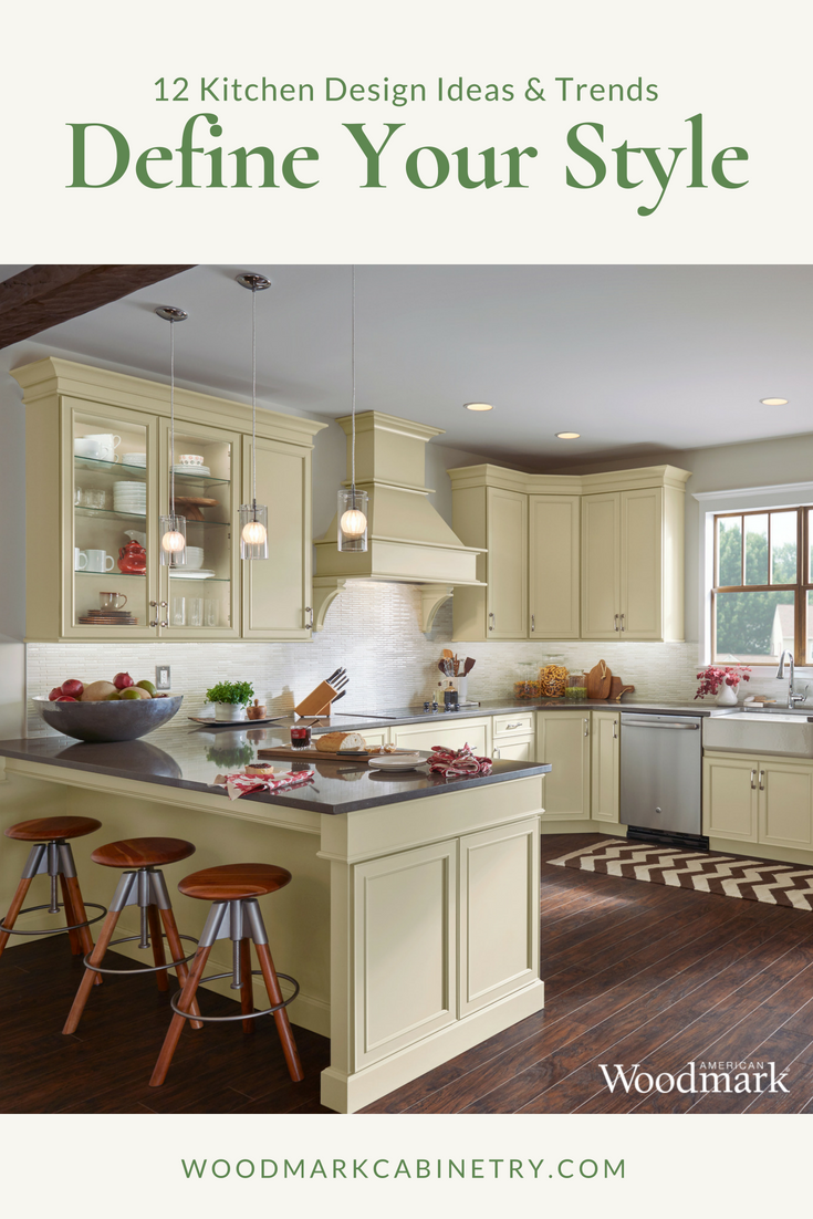 Wood Mark Cabinets Brookland Silk Color American Woodmark Cabinets Kitchen Cabinet Styles Kitchen Design Styles
