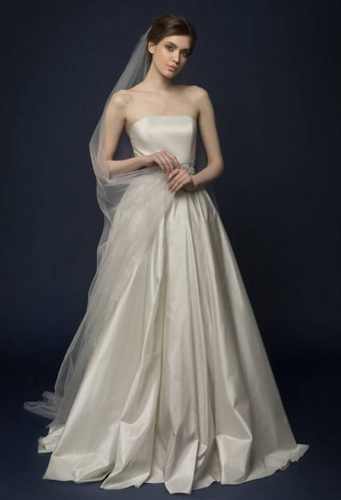 Filona Wedding Dress Corset Low Back Open Shoulders