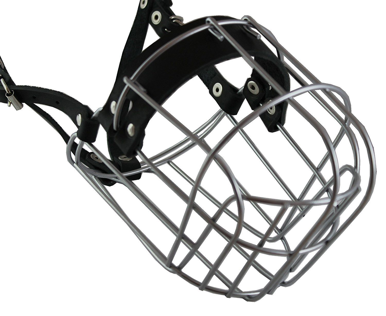 Metal Wire Basket Dog Muzzle Saint Bernard, Mastiff, Great Dane ...