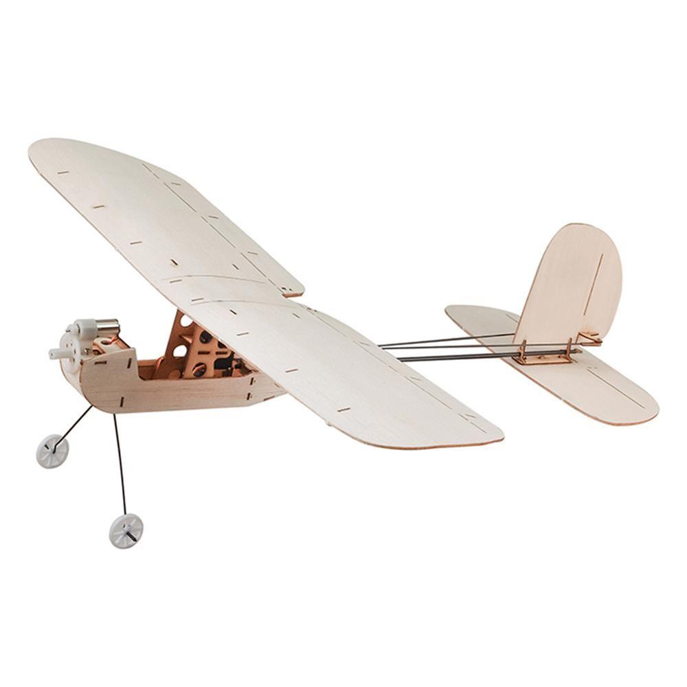 Keplar Balsawood 316mm Wingspan Biplane Warbird Aircraft Light Wood