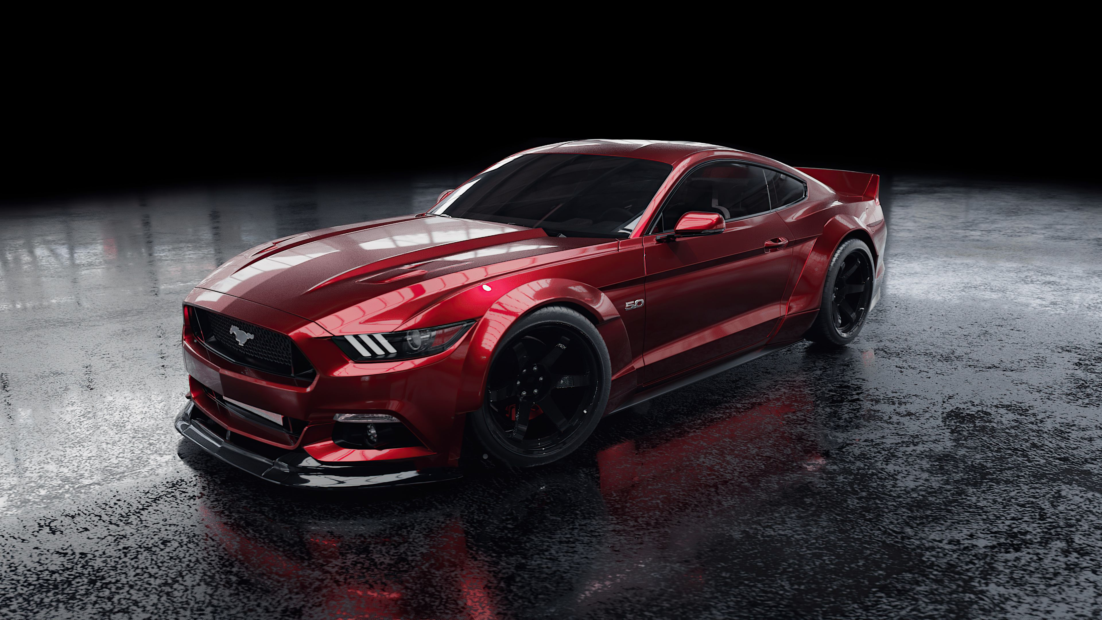 Red Ford Mustang 4k Red Ford Mustang 4k Wallpapers Ford Mustang Wallpaper Ford Mustang Mustang