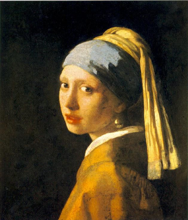 Girl with a Pearl Earring by Vermeer #renaissanceart