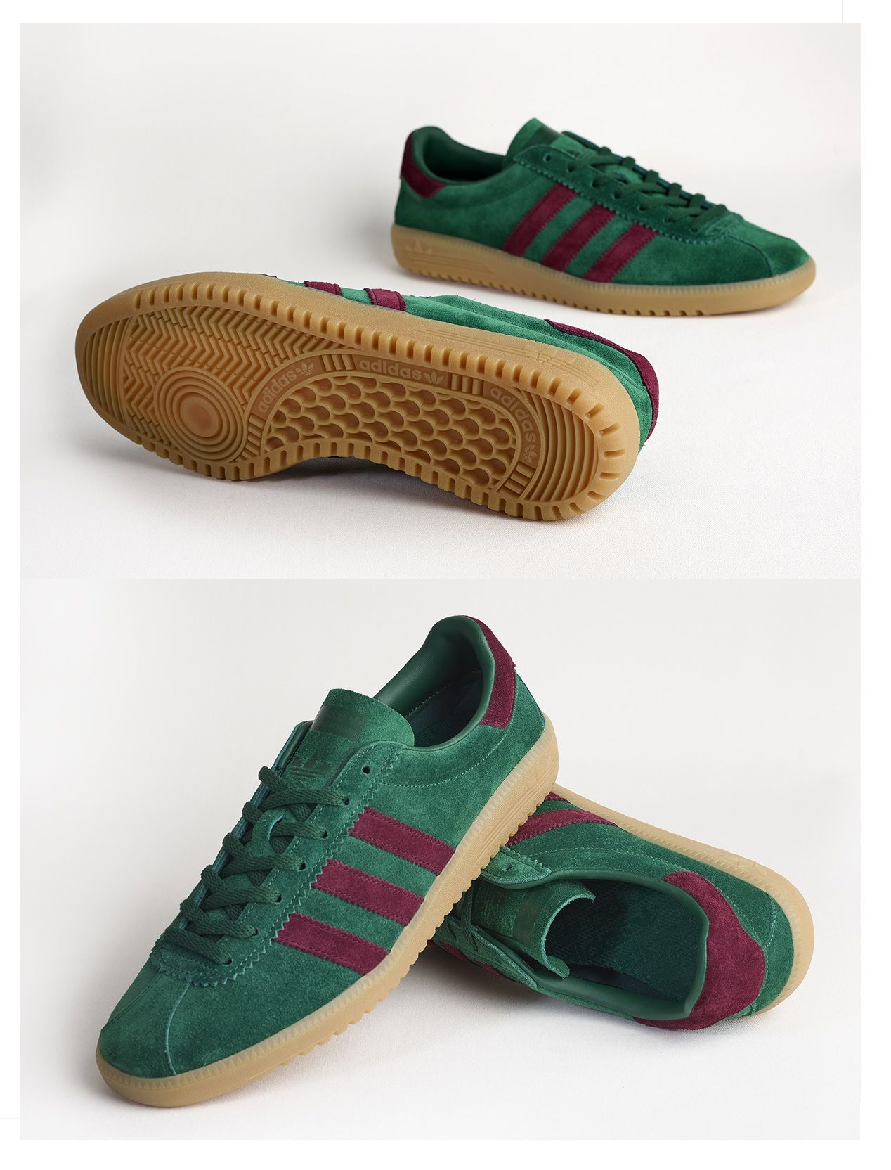 quality design 7254e 8413b adidas Originals Bermuda Pine GreenMaroon