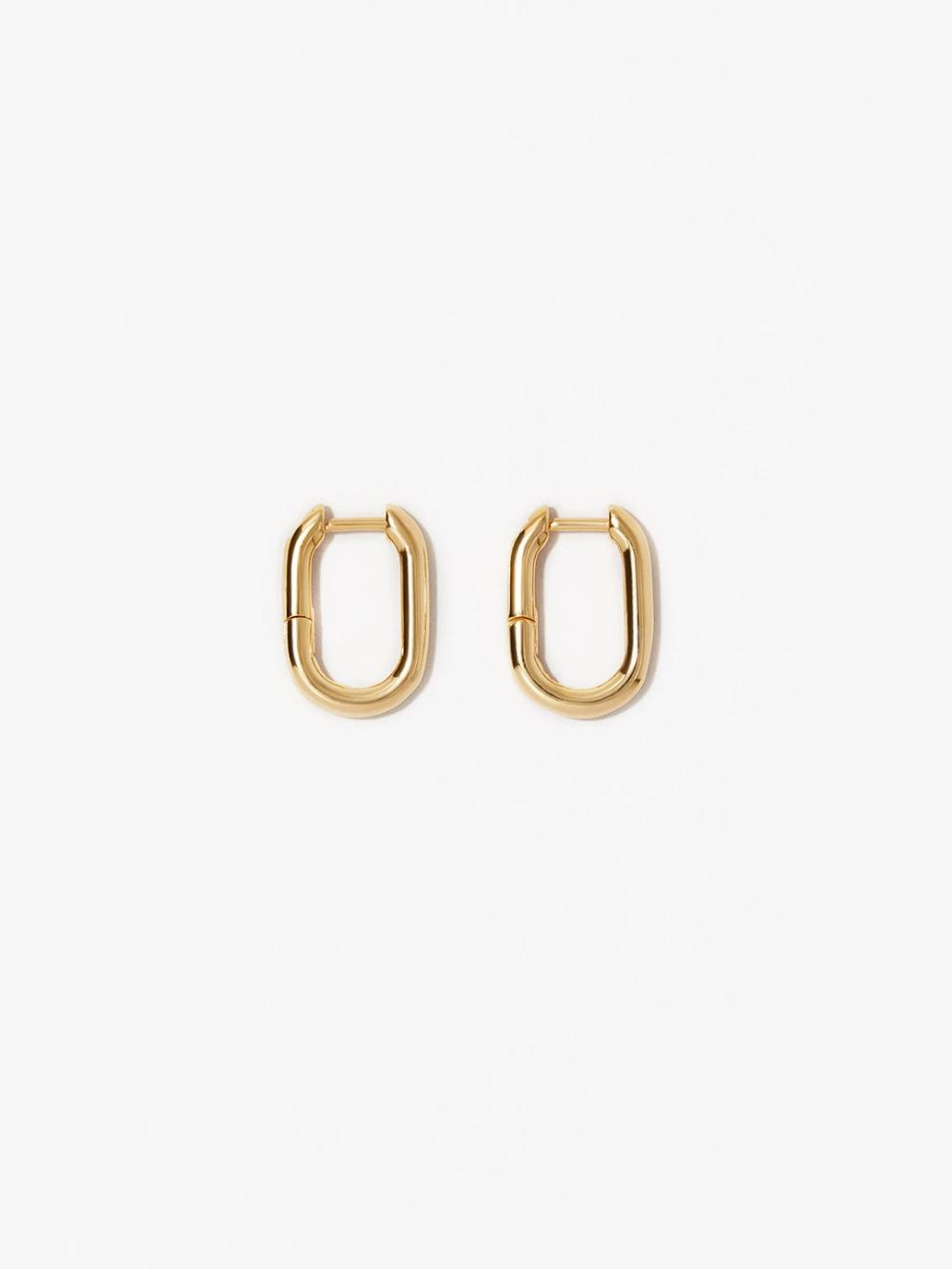 Gold Hoop Earrings Rox Mini Gold Hoop Earrings Gold Hoops Huggie Earrings Silver