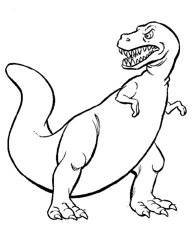 Dinosaur Wants To Find His Prey Coloring Pages   coloring Sheets ...