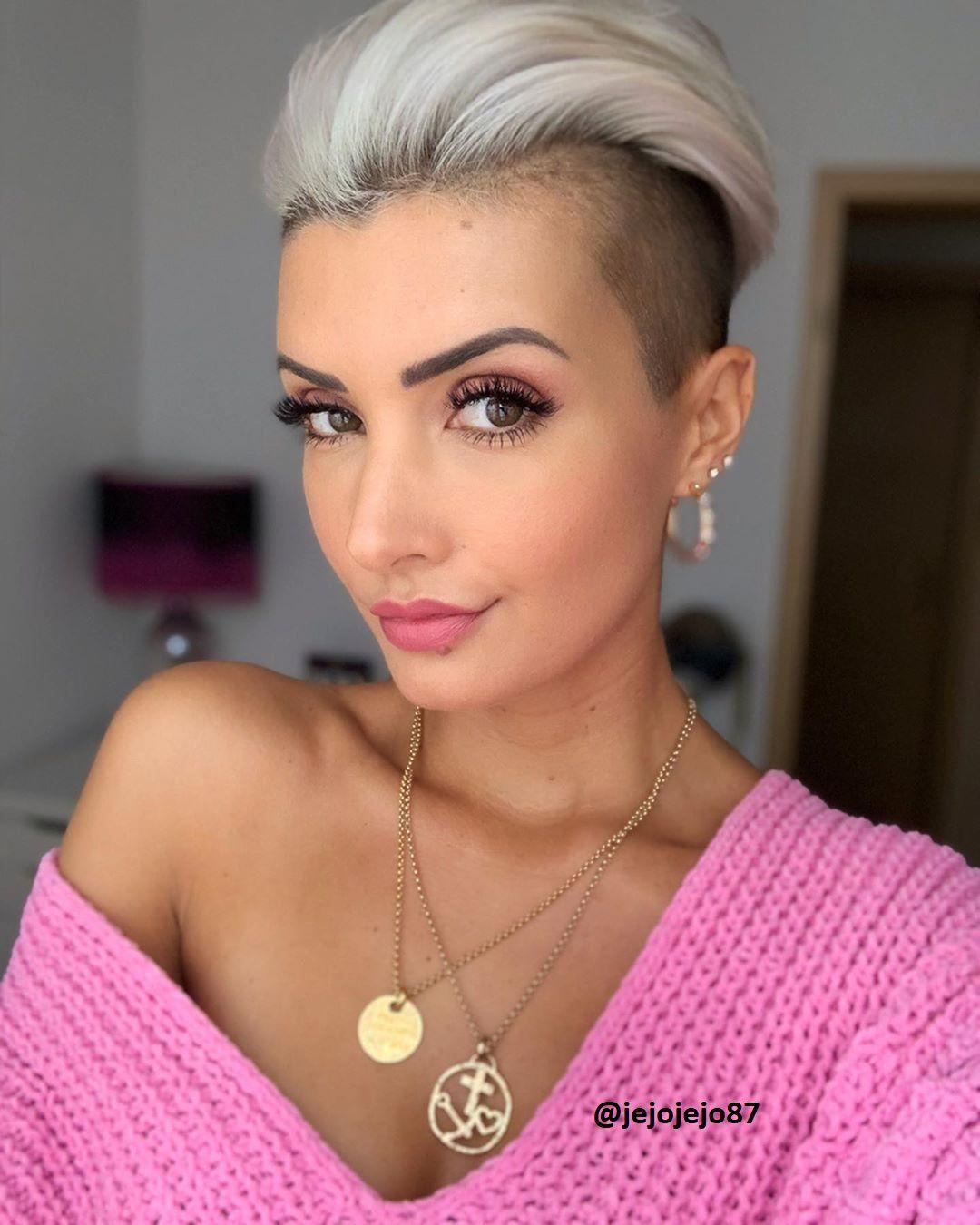 Undercut bei Frauen (11) - Frisuren Stil Haar - kurze und