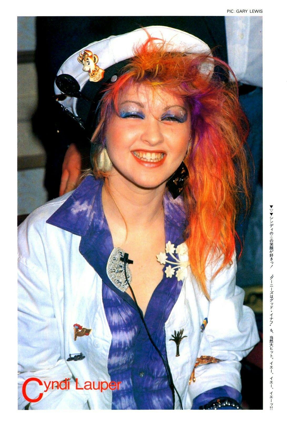Cyndi Lauper Cyndi lauper, 80s trends, Style