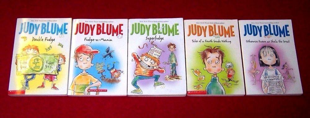 5 Judy Blume Books Complete Fudge Series Level 4 AR Sheila