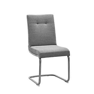 DIETER KNOLL Schwingstuhl, Silber Gepolsterte Stühle Unsere - dan küchenfronten austauschen
