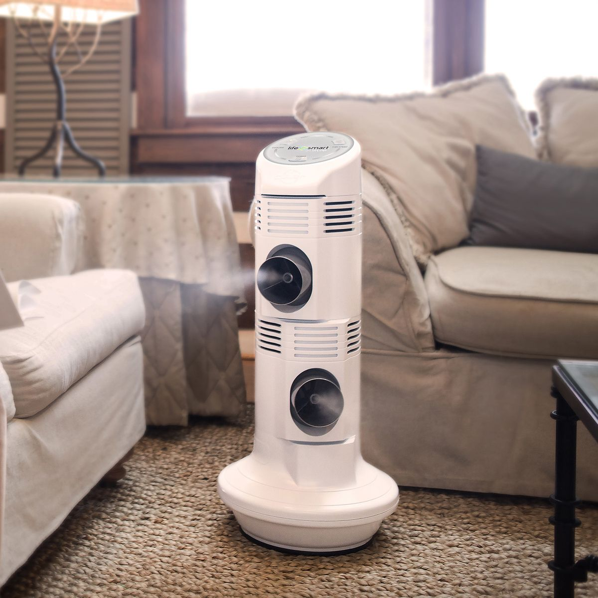 Your own personal air cooler, indoors or out. Your house