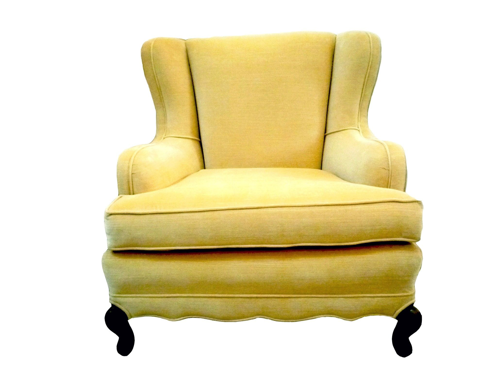 vintage mustard yellow chair For the Home