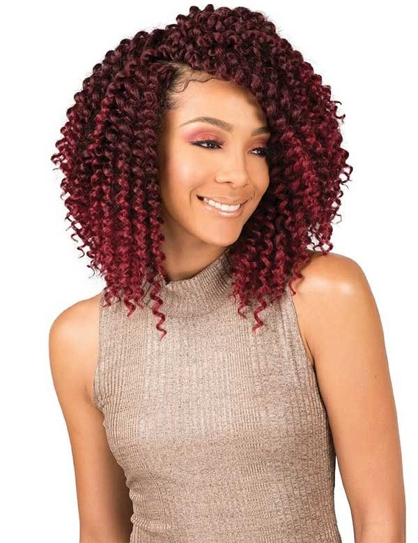 Bobbi Boss Crochet Braid Brazilian Water Curl 10 In 2019 Natural