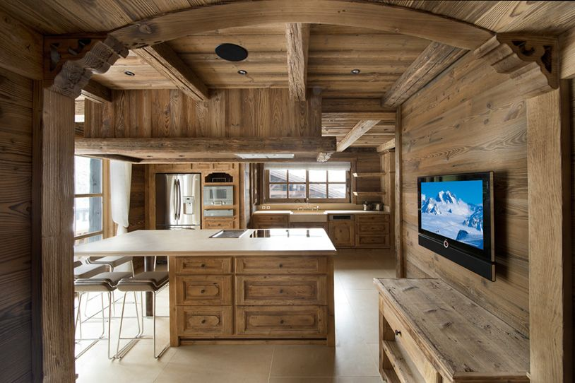 Exclusive edelweiss chalet promises the most luxurious for Chalet kitchen designs