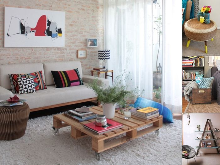 Genial 15 Living Room Projects Made From Recycled Materials    Http://www.amazinginteriordesign