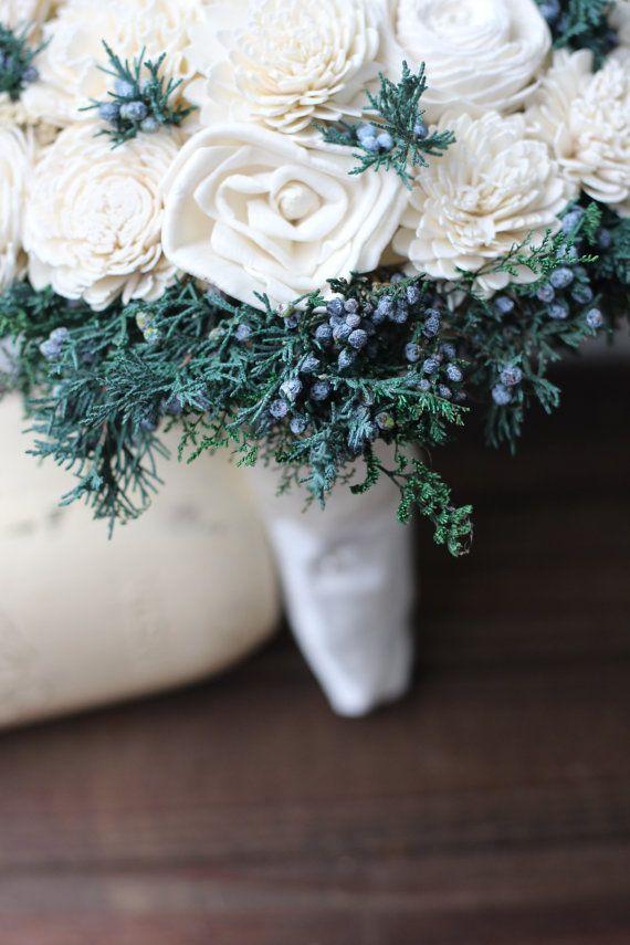 Sola Bouquet Juniper Berry Sola Bouquet Rustic Wedding Rustic
