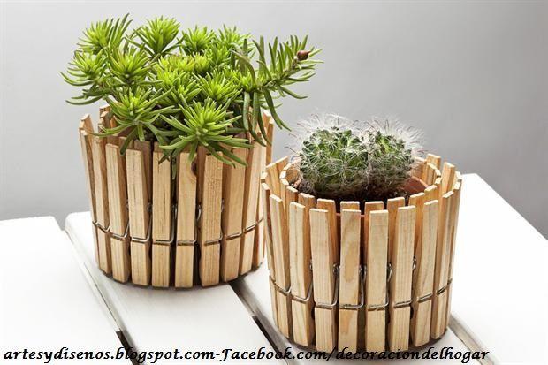 Macetas creativas y novedosas para plantas by for Terrazas novedosas