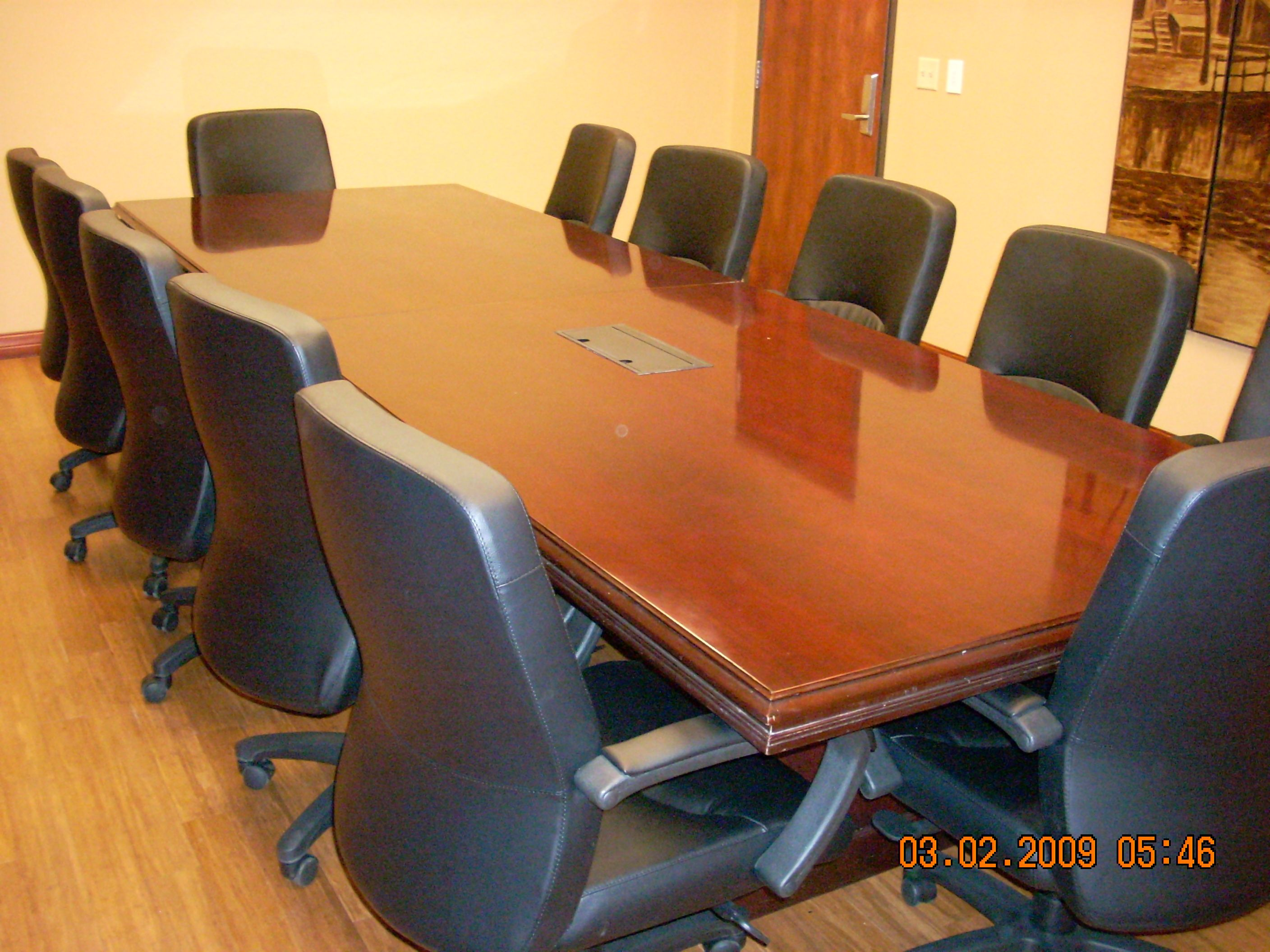 Genial ADVANCED PAIN TECHNOLOGIES   WICHITA, KS   WE TOTALLY REFINISHED THERE  CONFERENCE ROOM TABLE.