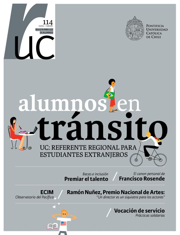 Publicación dirigida a los ex alumnos UC