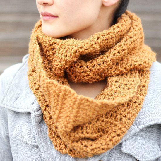 Free, easy crochet infinity scarf pattern. Thanks so xox | Crochet ...