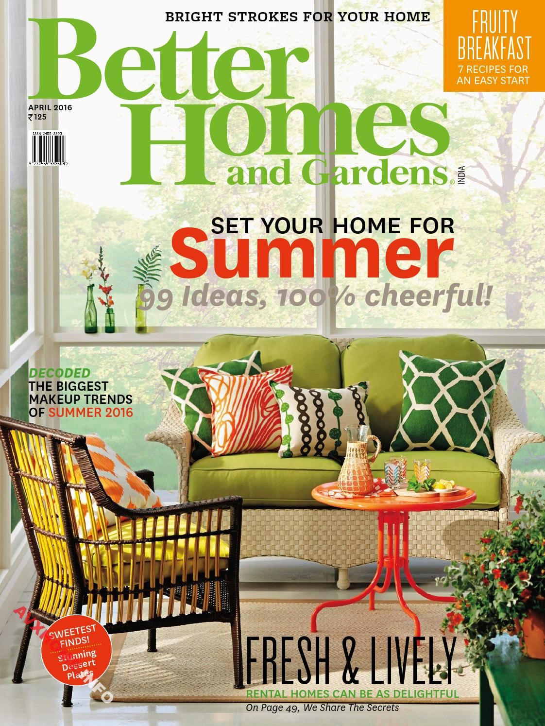 Better Homes U0026 Gardens India April 2016  You Need To Click On The Images To