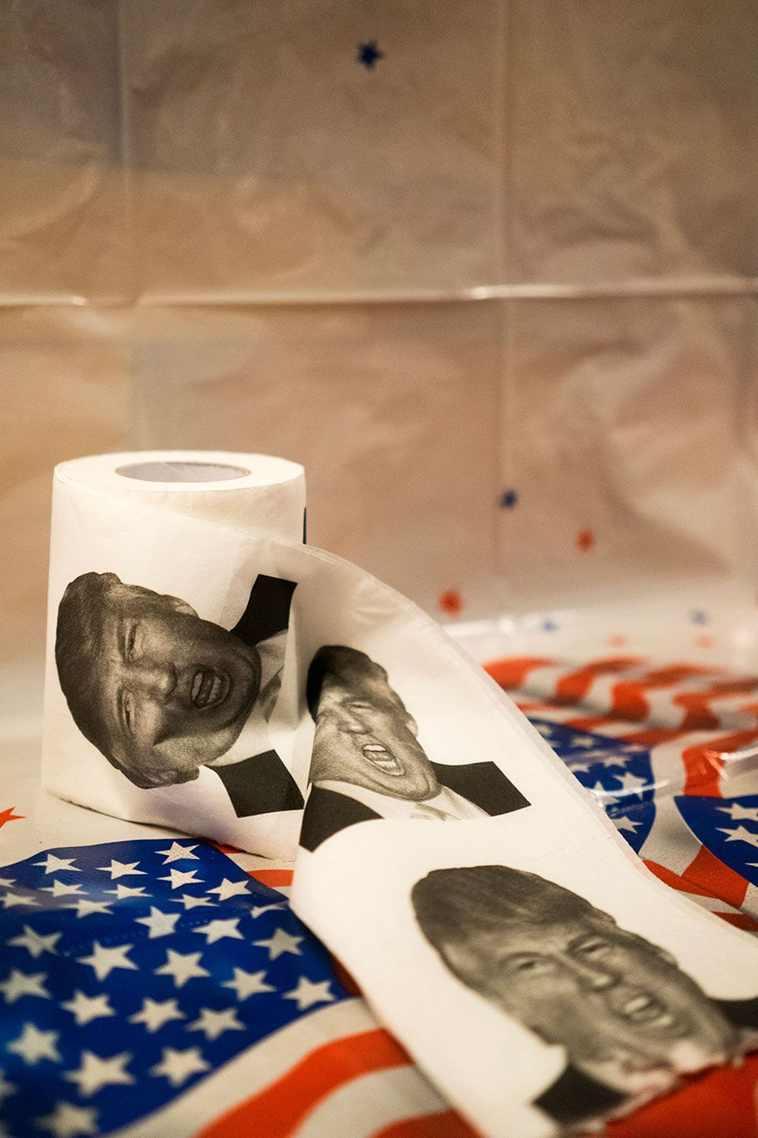 """This Is What Election Night Looks Like Around The World & Across The Country #refinery29  http://www.refinery29.com/2016/11/129026/this-is-what-election-night-looks-like-around-the-world#slide-28  Quito, EcuadorToilet paper in a bar where many Americans living or traveling in Quito watched election results. Photo by Ana María Buitrón, @lachuros, a contributor to The Everyday Project's <a href=""""http..."""