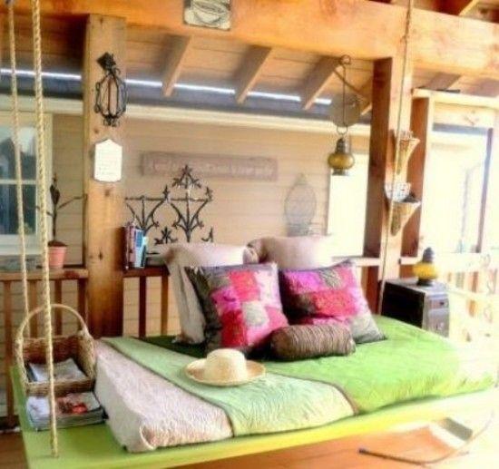 Bequemes Hängebett für puren Relax und viel Komfort