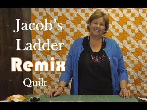 The Jacob's Ladder Remix Quilt tutorial by Jenny Doan