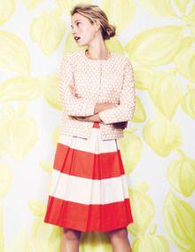 Full Stripy Skirt