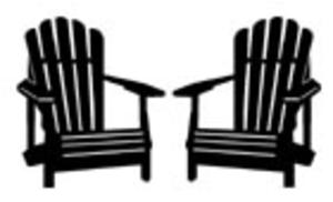 Silhouette Image | 50th | Chair, Beach chairs, Silhouette ...