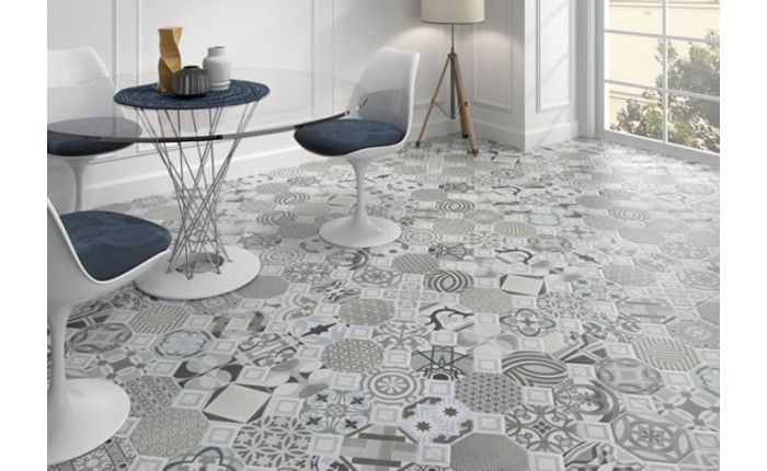 Blue Patterned Tile - Google Search