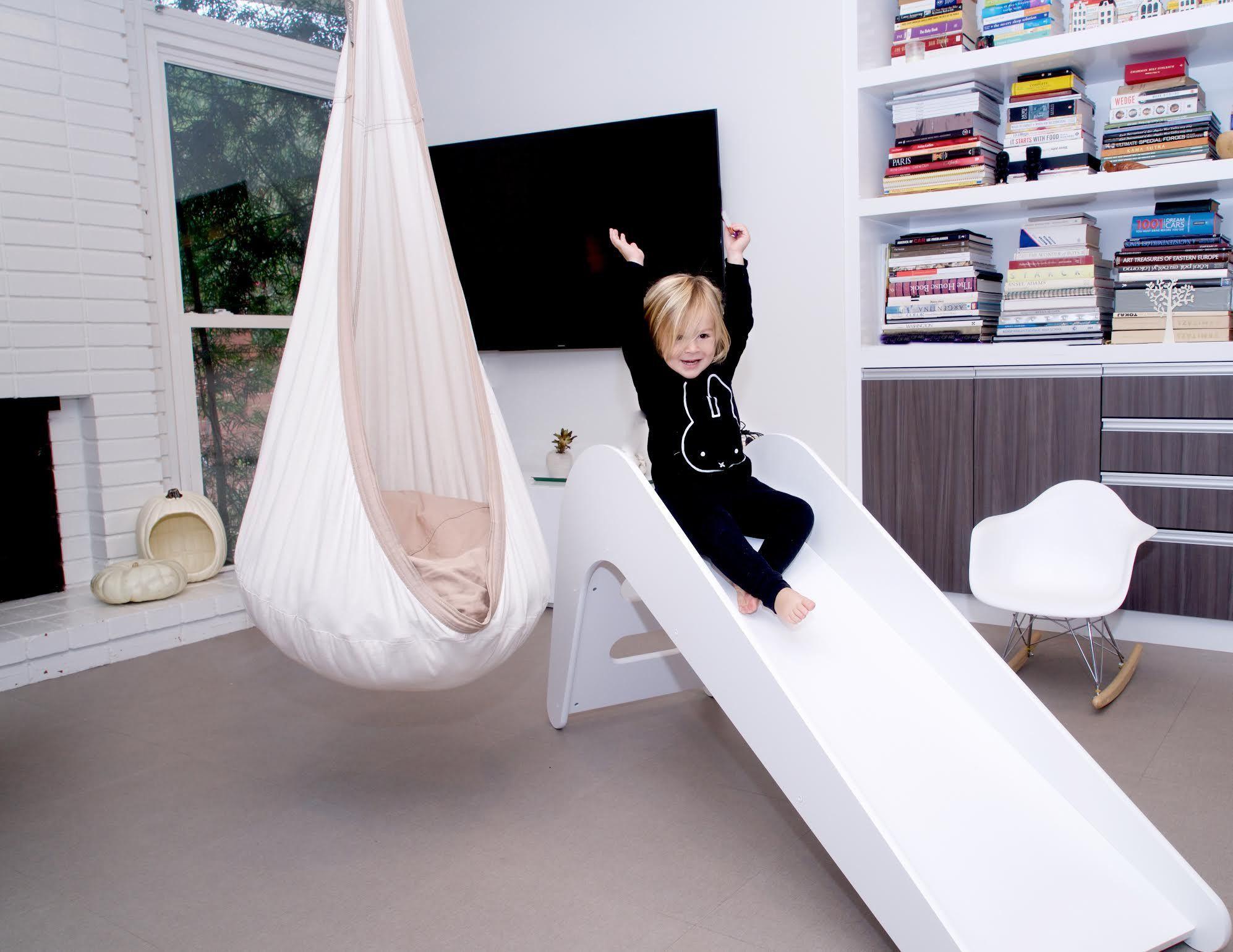 Modern Slide Toy rooms, Kids slide, Playroom