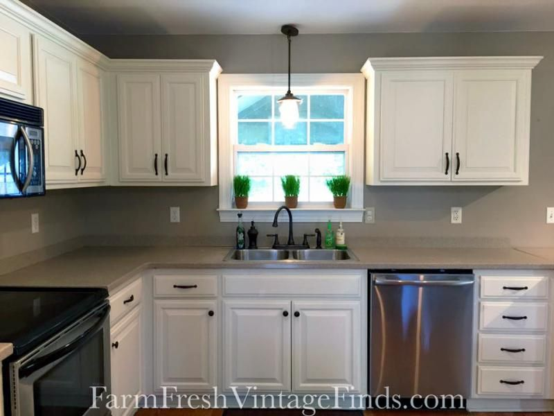 Gf Linen Milk Painted Kitchen Cabinets Milk Paint Kitchen Cabinets Painting Kitchen Cabinets Kitchen Cabinets