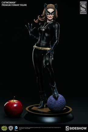 The Catwoman Julie Newmar Premium Format Figure is available at Sideshow.com for fans of the Classic 1960s TV Series and DC Comics.