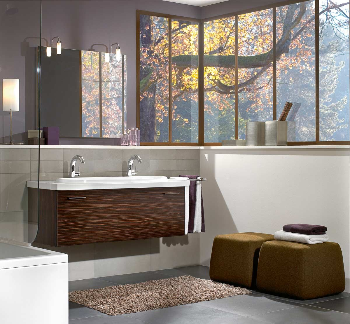villeroy boch central line furniture in maccasser - Villeroy And Boch Bathroom Furniture