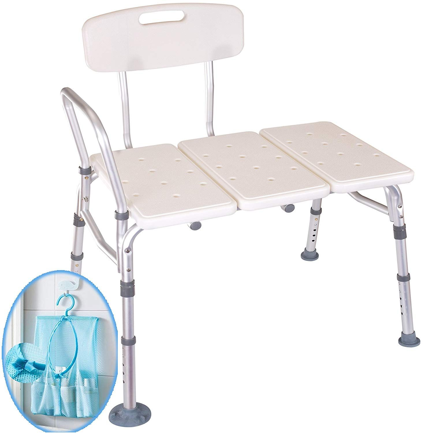Medokare Shower Transfer Bench Seat – Over Tub Transfer