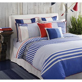 Tommy Hilfiger Mariners Cove 3-piece Duvet Cover Set - Overstock™ Shopping - Great Deals on Tommy Hilfiger Duvet Covers
