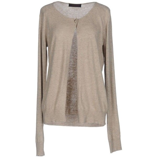 Cafènoir Cardigan ($44) ❤ liked on Polyvore featuring tops ...