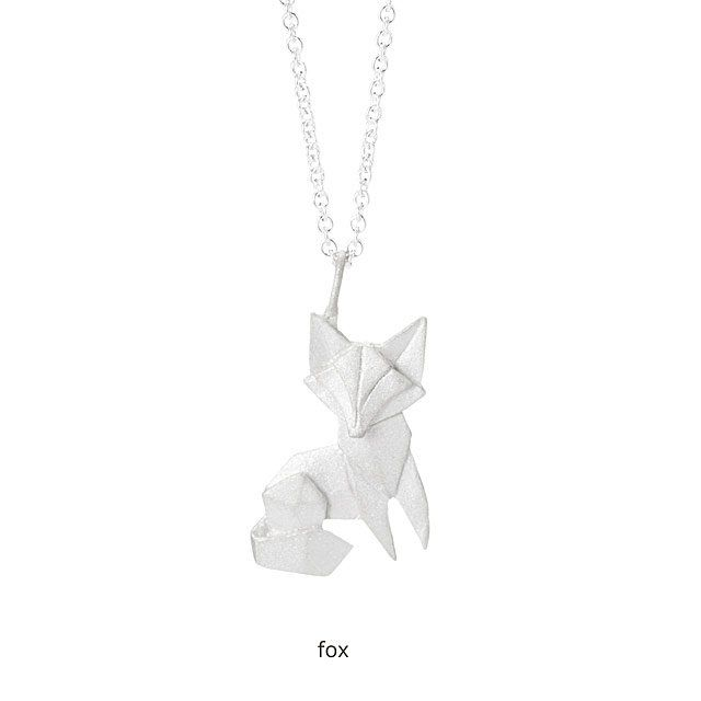 Origami Menagerie Necklaces Origami Necklace And Origami Jewelry
