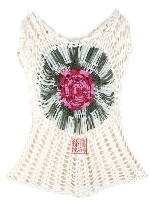 1) Clube do croche - linda esta blusa não acham? passo a passo na ...