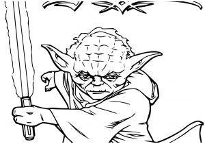 Coloriage Maitre Yoda Coloriage Star Wars Ma Tre Yoda Et Jedi