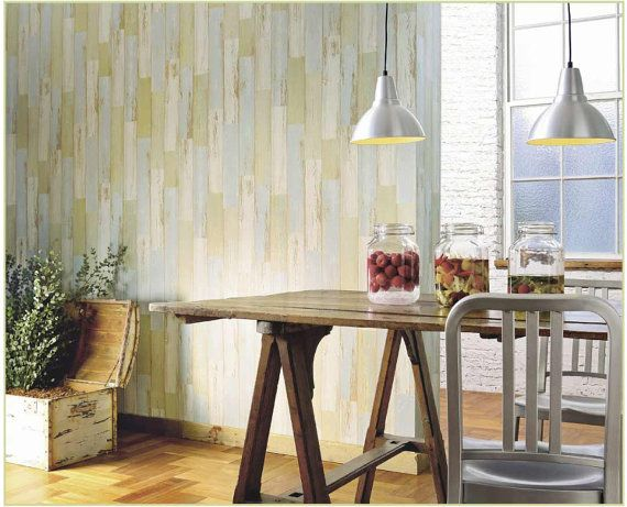 Wallpaper vintage wood pattern with pastel