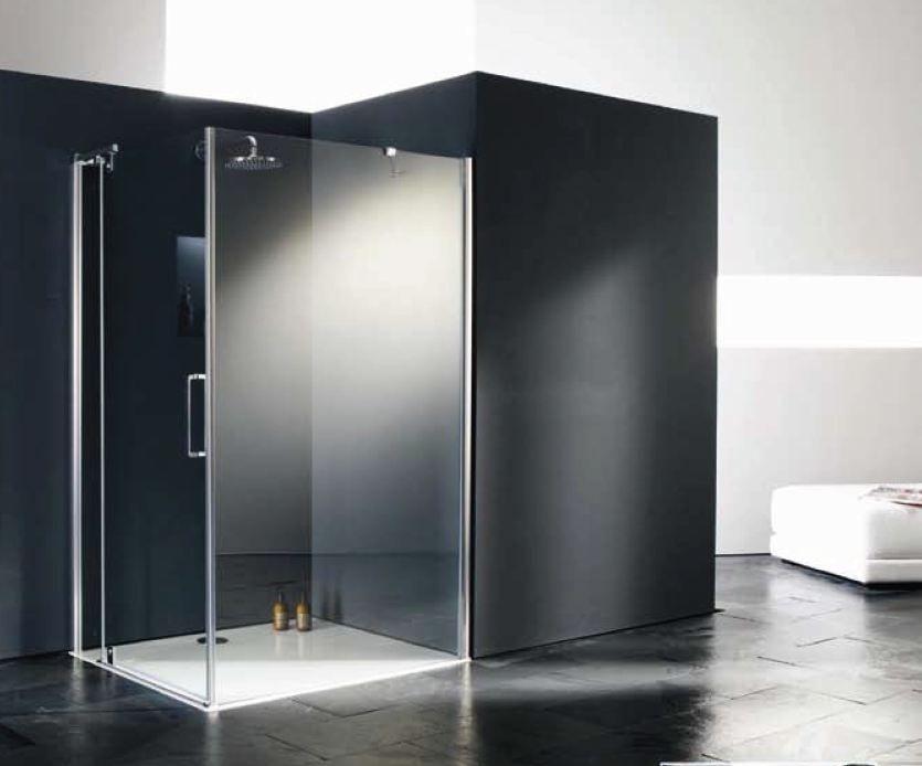 Zon douche met glazen wanden vind ik wel mooi badkamermeubels