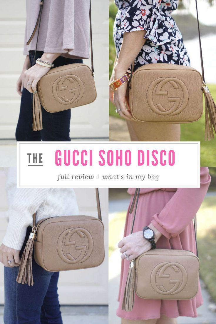 89f47e8b5c8d Sharing what I keep inside my cross body Gucci Soho leather Disco handbag  plus a full