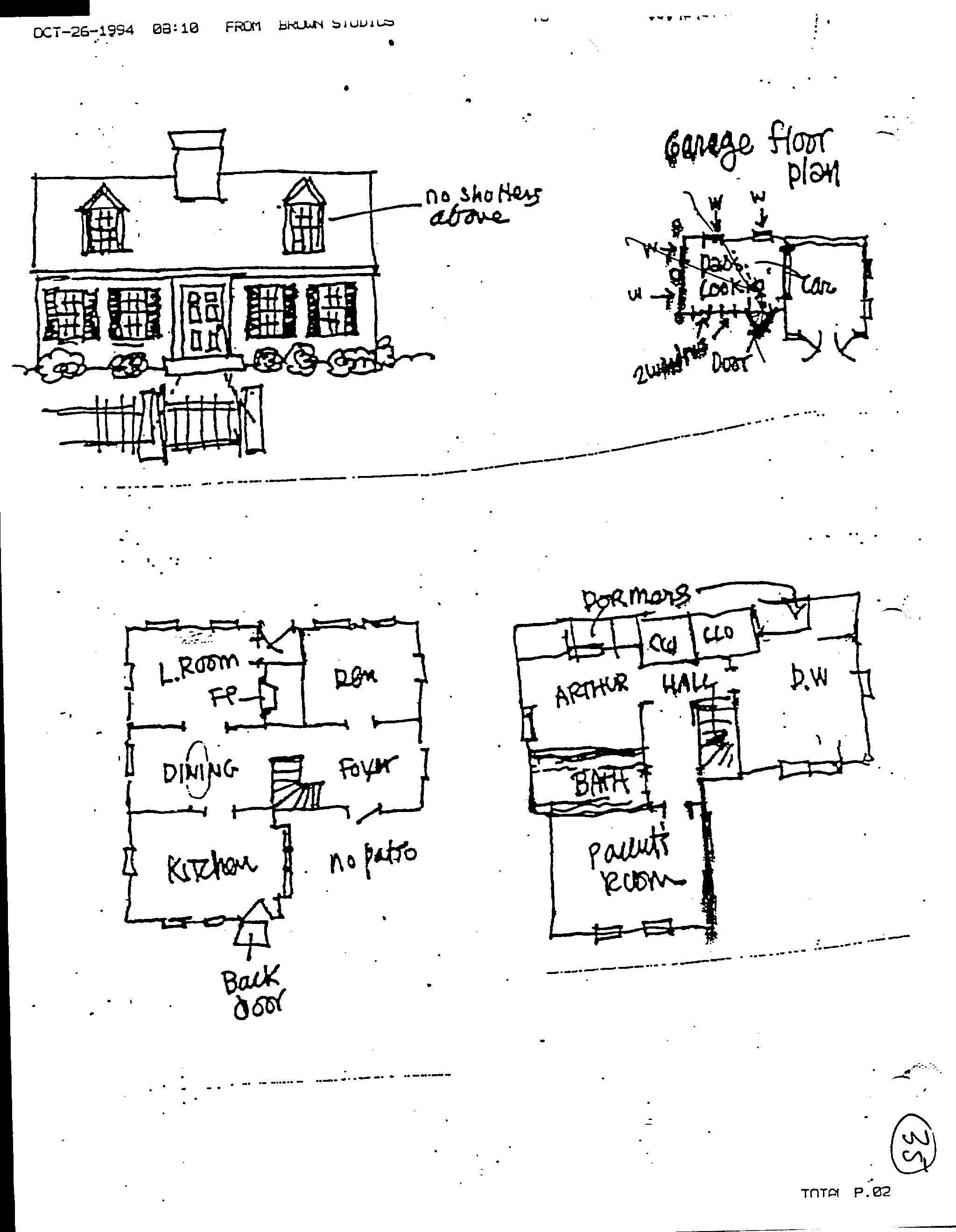 Arthur Readu0027s House Plan