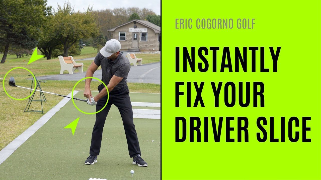 Golf how to instantly fix your driver slice youtube