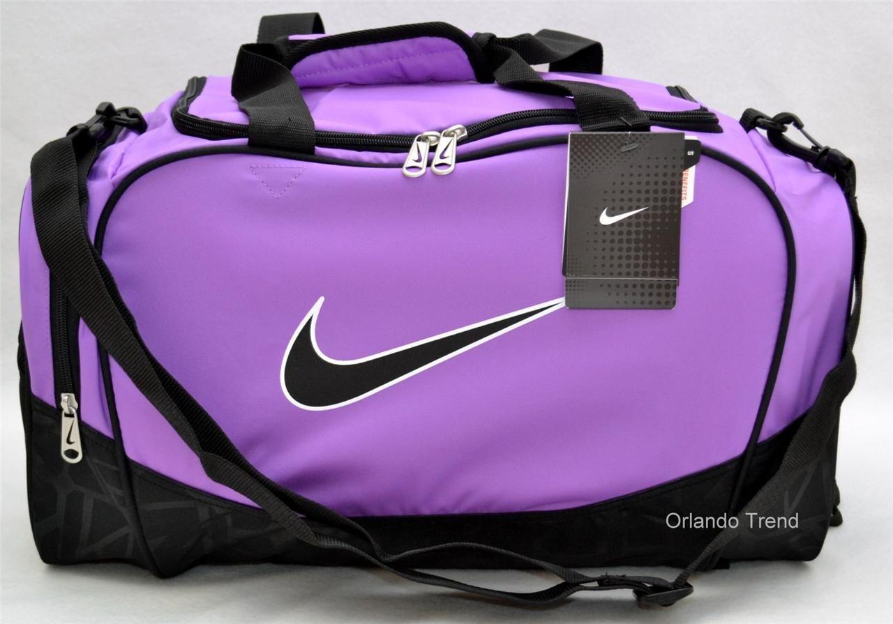 Nike Sports Bag For S Duffel Purple Mxvckn